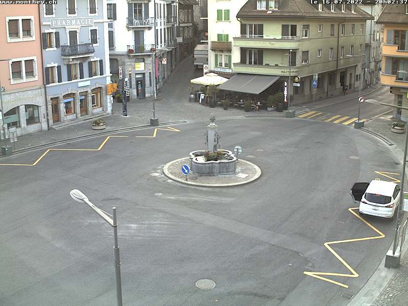 Monthey: Place Centrale